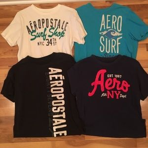 4 Aeropostale T-shirts